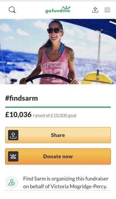 GoFundMe reaches £10,000